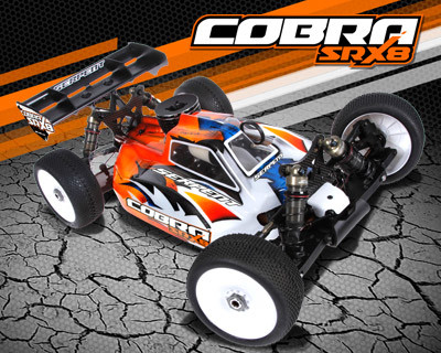 Serpent launches the new Cobra SRX8 - 1:8scale Offroad