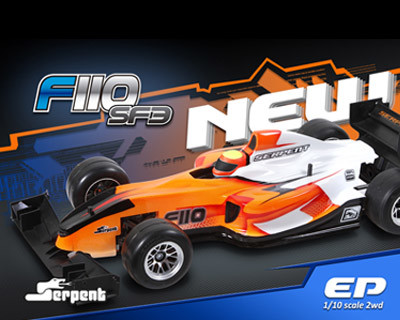 Serpent launches the new 1/10 F1 car - F110 SF3